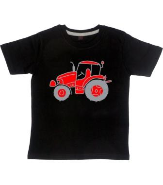 tractor  t-shirt ( single colour )